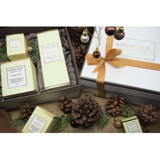 Hampers Fragrance Diffuser 150ml, Candle 200g & 60g