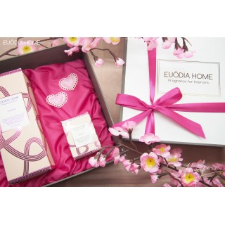 Hampers Fragrance Diffuser 150ml & Candle 60g Rosette