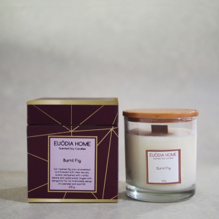 Burnt Fig Soy Scented Candles 200 g