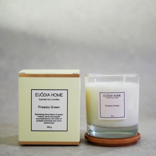 Freesia Green Soy Scented Candles 200 g