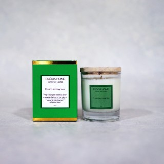 Fresh Lemongrass Soy Scented Candles 60 g