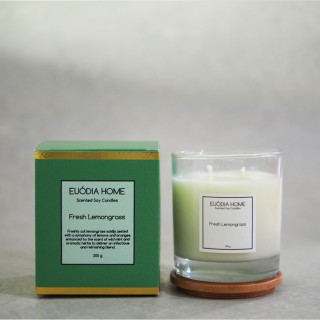 Fresh Lemongrass Soy Scented Candles 200 g