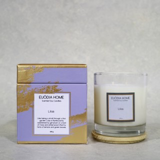 Lilas Soy Scented Candles 200 g