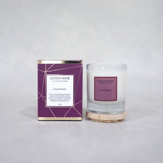 Lotus Flower Soy Scented Candles 60 g