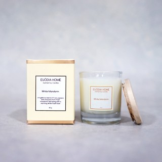 Papaya White (White Mandarin) Soy Scented Candles 60 g
